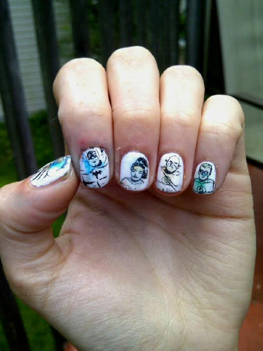 Wham! Pow! Justice League Nails! – Coffee & Nail Polish