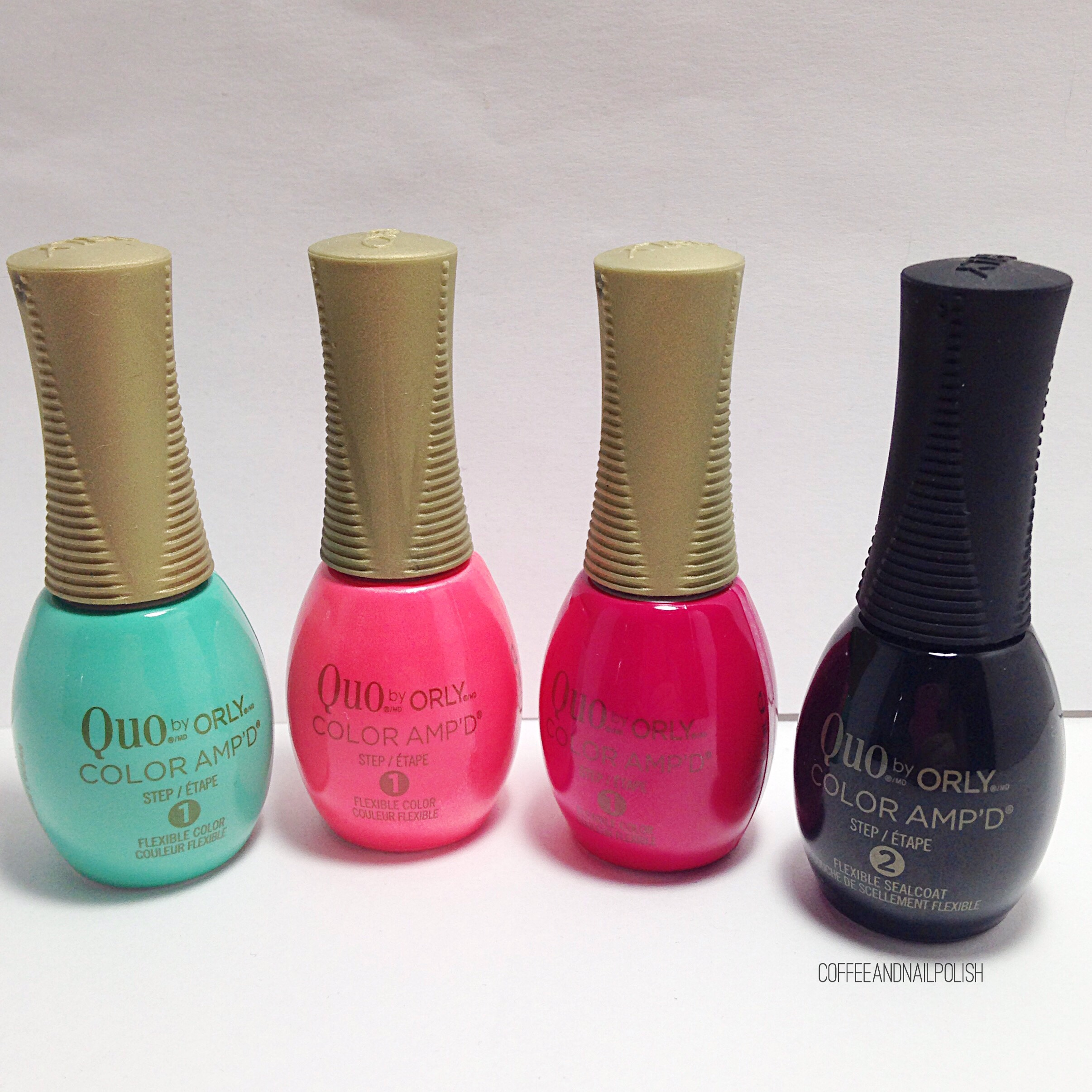 SWATCH POST: Quo by ORLY Color Amp\'d Summer 2017 – Coffee & Nail Polish