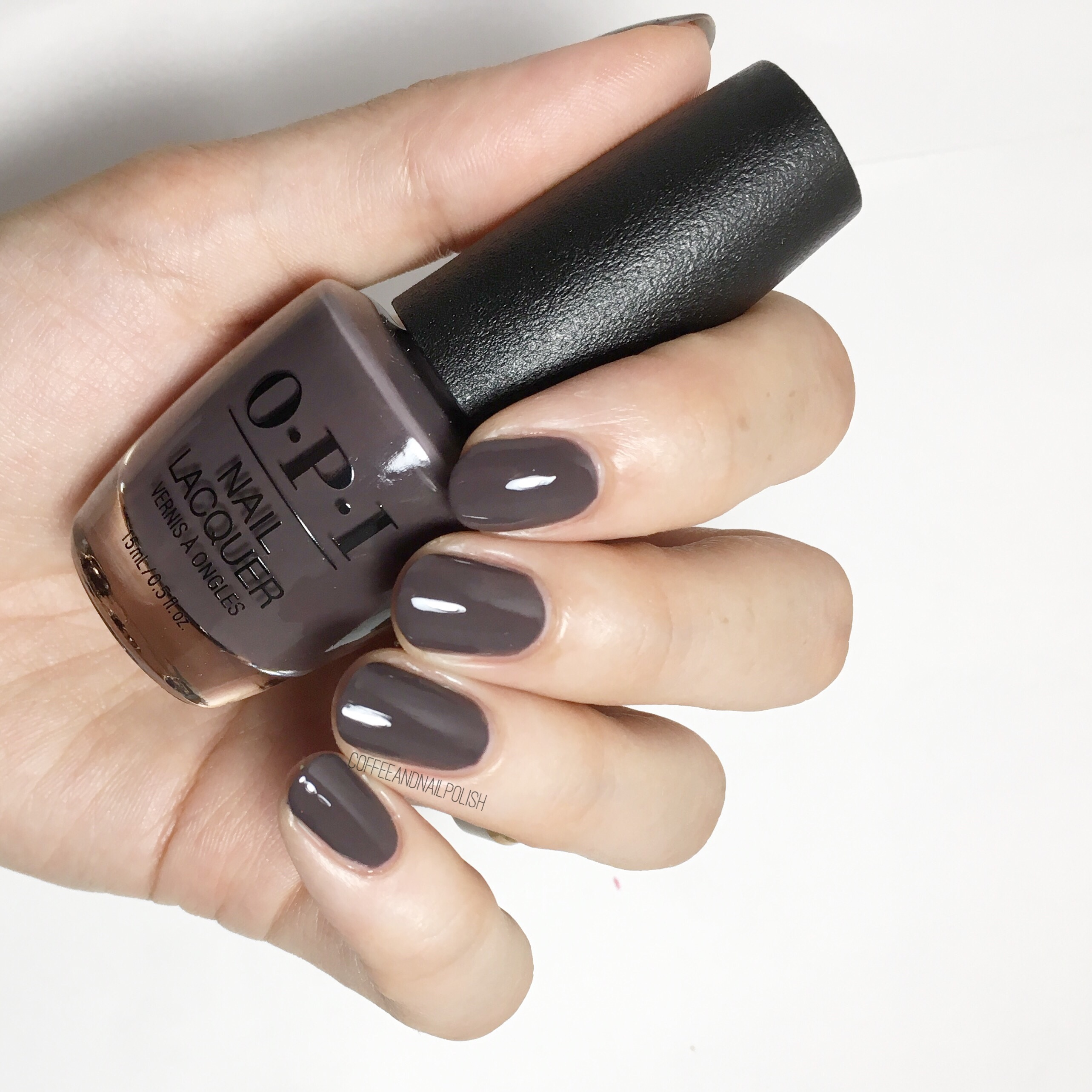 OPI Fall/Winter 2017 Iceland Collection Part 2 – Coffee & Nail Polish