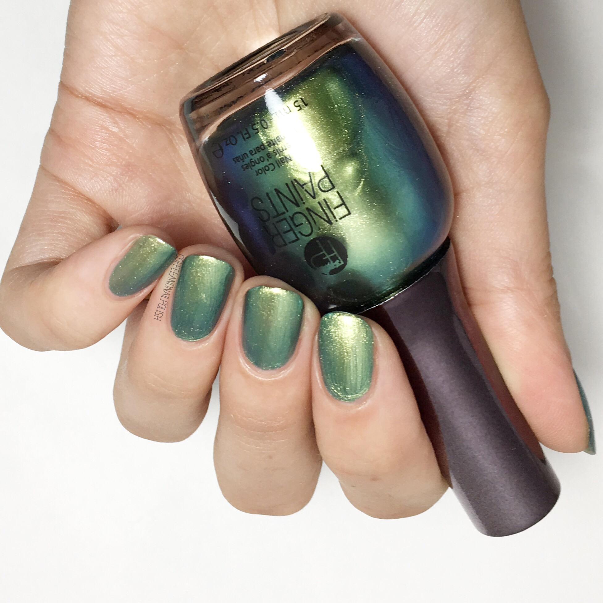 SWATCH SUNDAY: Finger Paints – Coffee & Nail Polish