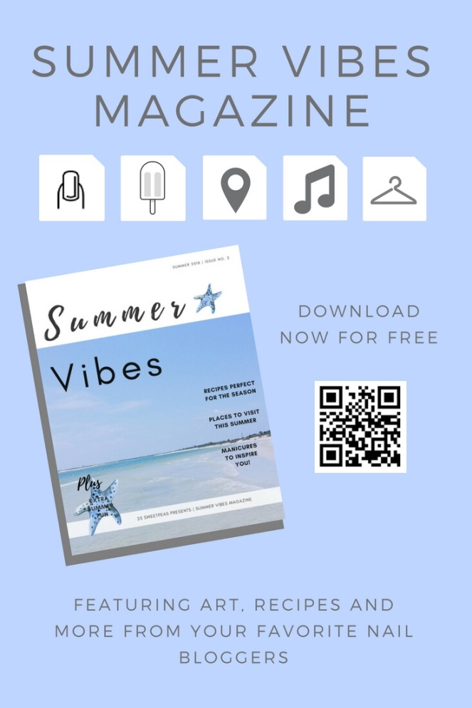 Summer Vibes Magazine Spread & My Summer Inspired Nails – Coffee ...